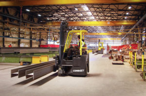 combilift combicb multidirectional counterbalance forklift truck